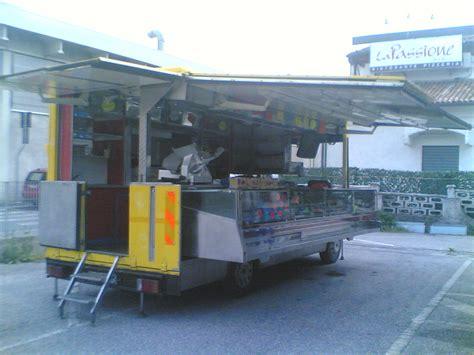 bar mobile usato forno rotor cucina furgoni usati x vendita panini