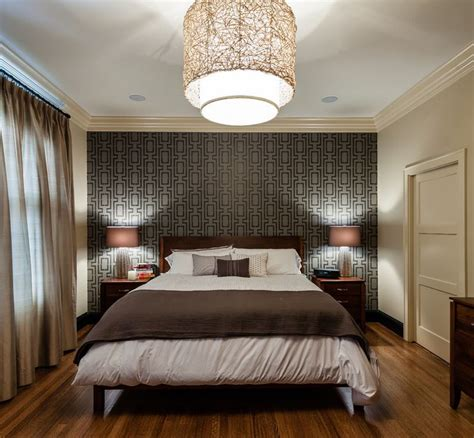 Bedroom Wall Painting Ideas make a statement with stenciled walls
