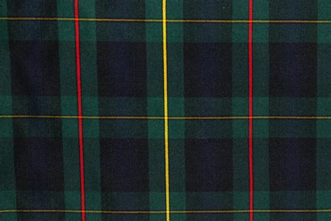 Tartan Navy by Tartan Plaid Fabric Green Navy Yellow The Fabric Mill