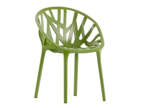 Chaise Vegetal Vitra by Chaise Empilable En Plastique Vegetal By Vitra Design