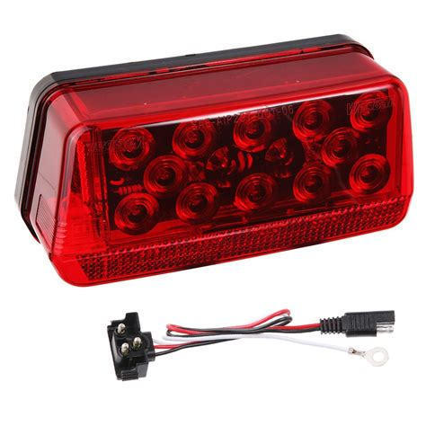 wesbar boat trailer tail lights wesbar 281594 waterproof led wrap around tail