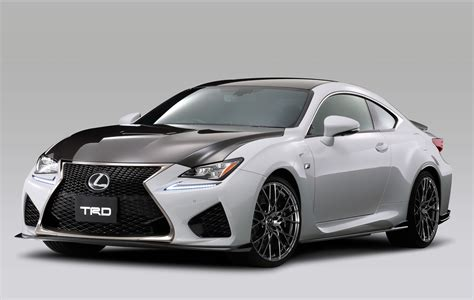 lexus trd trd introduces circuit club sports parts for lexus rc f