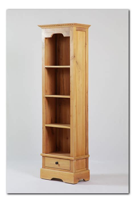 Narrow Bookcase With One Drawer Nadeau Baton Rouge Narrow Bookcase With Drawers