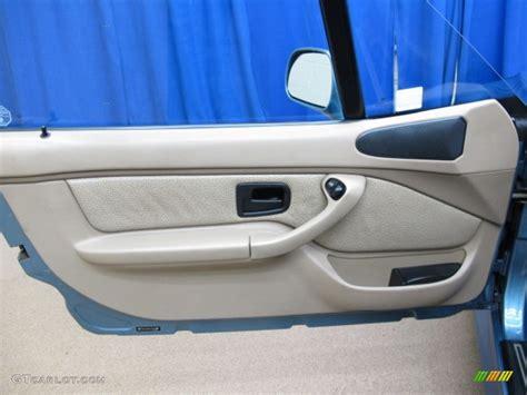 bmw z3 panels 1998 bmw z3 2 8 roadster beige door panel photo 78475916