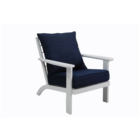 Aluminum Chairs Patio Furniture Shop Allen Roth Gatewood Brown Aluminum Patio Chaise Lounge Aluminum Patio Chairs