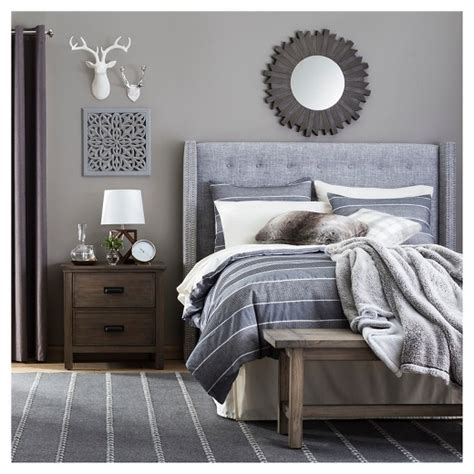 Home Decor Supplies modern rustic bedroom collection target