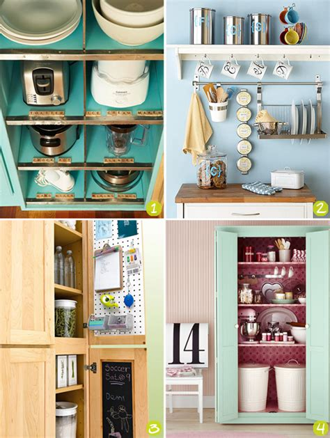 Storage Ideas For A Small Kitchen Strawberry Chic Inspiration Thursday Storage Ideas For Small Kitchens