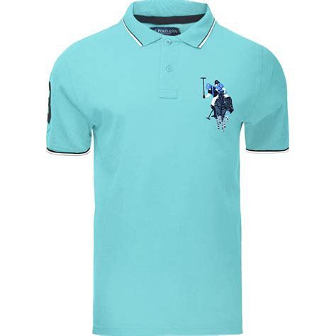 Big Sale Kemeja Polos Ungu mens us polo assn sleeve big pony contrast polo t shirt top lot ebay