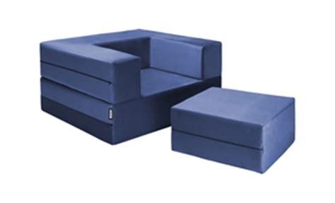 stowaway sleeper ottoman jaxx zipline modular sleeper chair ottoman set 1638570