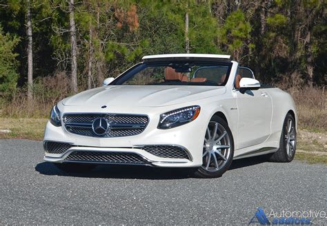 2017 mercedes amg s65 cabriolet review test drive