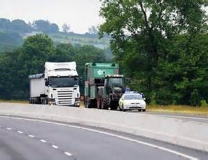 red alert on new road regulations for tractors med