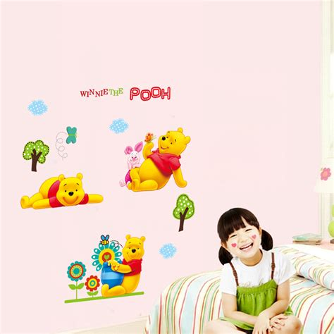 winnie the pooh diy vinyl wall stickers for