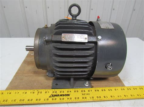 emerson motor emerson us motors a32p1c b654 1 5hp 3ph electric motor