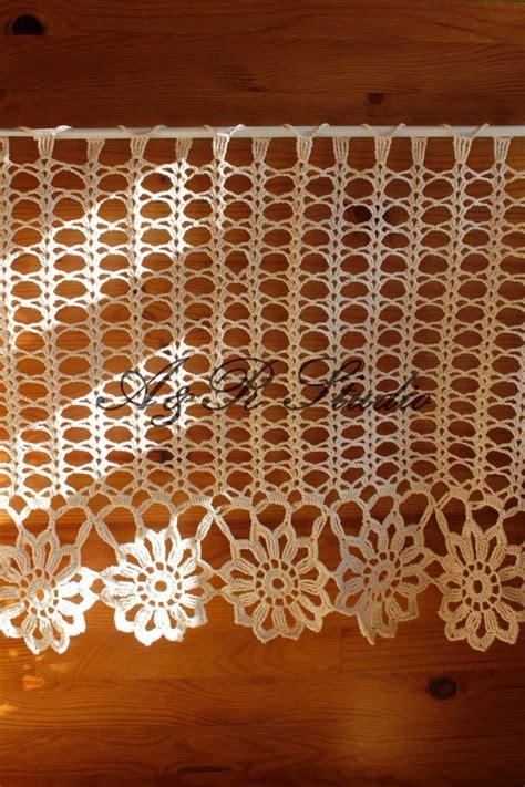 crochet curtain pattern 174 best tende crochet images on pinterest cortinas