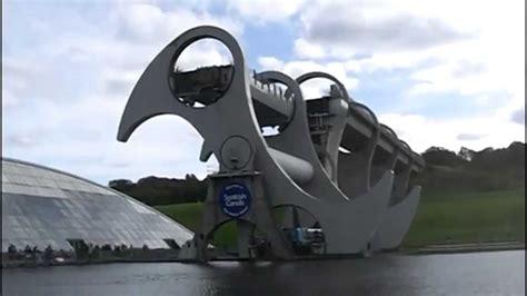 falkirk wheel boat lift youtube falkirk wheel youtube