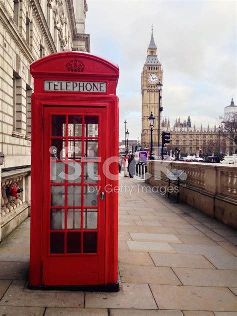 cabina telefonica londra cabina telefonica rossa londra fotografie stock
