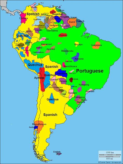 south america language map 17 best images about maps america on