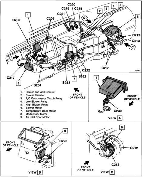 1994 chevy silverado blend door actuator 2000 chevy blazer heater blend door actuator where is it