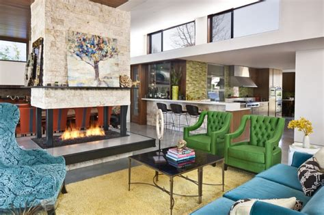 The Color Room Dyer by This Family Friendly Home Goes Bold With Color