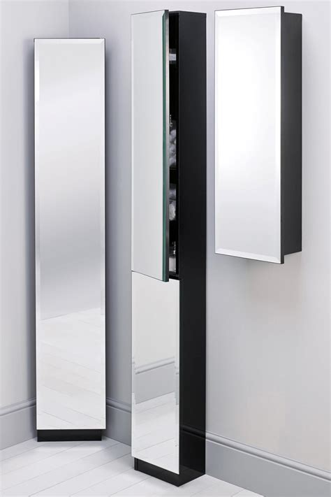 black bathroom storage cabinet wood wall muonted tall modern bathroom storage cabinet with glass door in the corrner