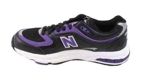 new balance m2000kp mens black purple white athletic sneakers