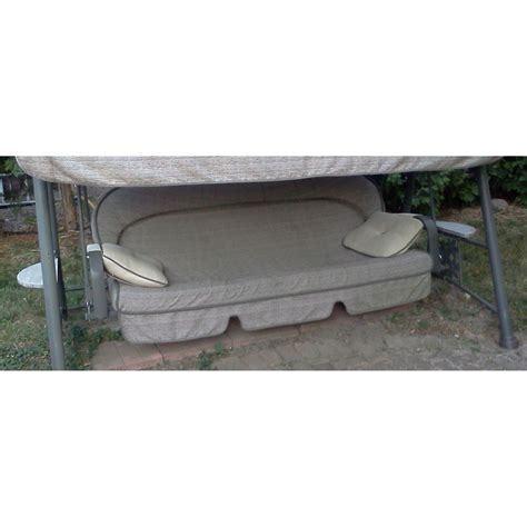 Deluxe Patio Swing Lounger With Canopy Costco Replacement Canopy For Costco Lounge Swing Garden Winds Canada