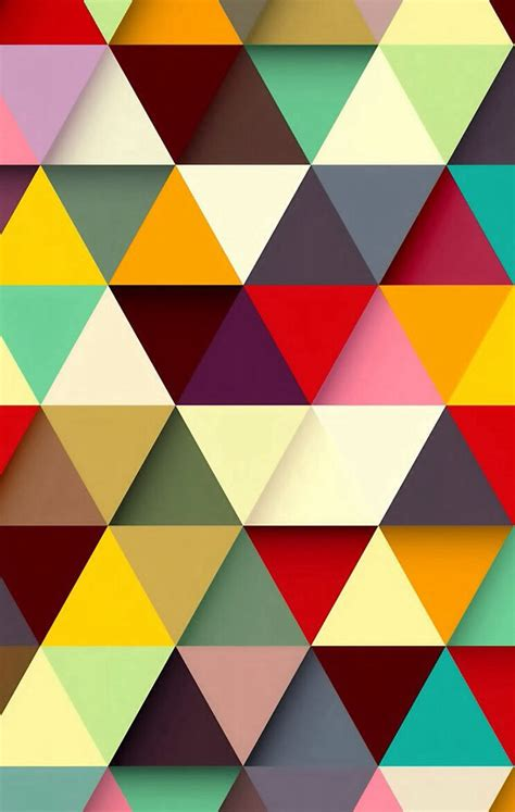 Colorful Triangle Pattern Wallpaper | wallpaper triangle texture color texture geometric