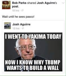 Anti Bernie Sanders Memes - kennewick city councilman criticized for anti latino social media posts the seattle times