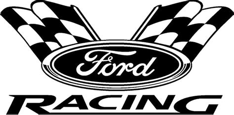 Ford Racing Aufkleber by Quot Ford Racing Quot Stickers By Joekiller Redbubble