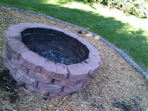 How To Make Firepit A Pit With Rocks Home Improvement