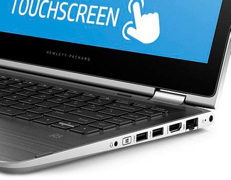 souq | hp pavilion x360 13t s100 2 in 1 laptop intel