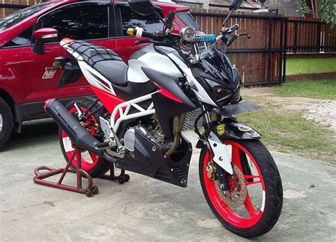 Modifikasi Fighter New Vixion new vixion modifikasi streetfighter 8 motorblitz