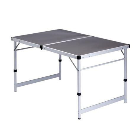 Light Weight Folding Table Cing Lightweight Folding Table 80x120x70cm Caravan Stuff 4 U