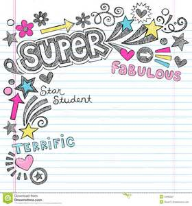 free doodle powerpoint templates student praise back to school notebook doodl royalty