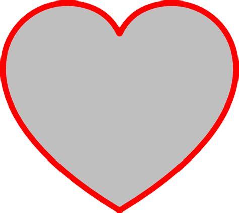 large heart shape clipart best big heart drawing clipart best