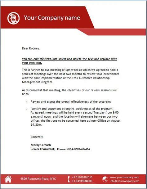 company letterhead template company letterhead examples