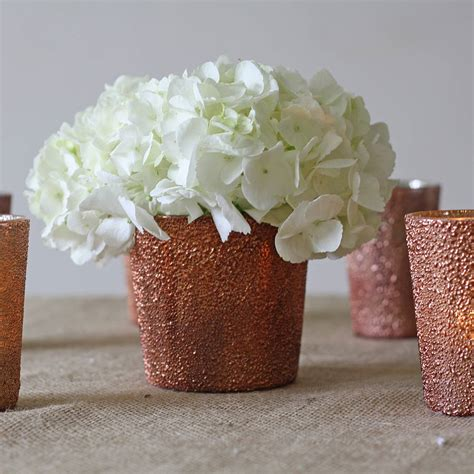 Votive Vases by Bronze Vase Or Votive By The Wedding Of Dreams Notonthehighstreet