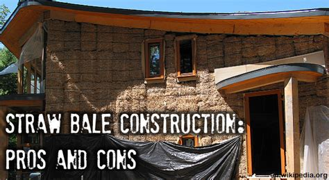 Family Homes Plans straw bale construction pros and cons survivopedia