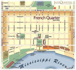 New Orleans French Quarter Tourist Map by French Quarter Map Related Keywords Amp Suggestions French