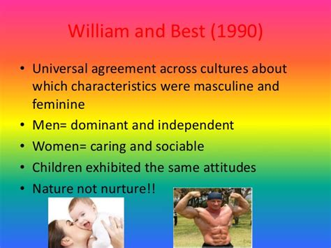 masculine and feminine countries in a2 cross cultural research into gender roles