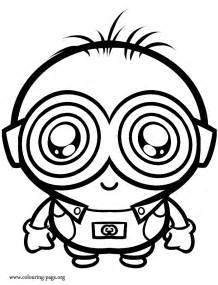 despicable minions coloring pages getcoloringpages