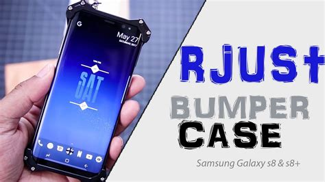 r just aluminum bumper for samsung galaxy s8 and s8 review