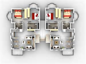 house plans with apartment foundation dezin decor 3d home plans