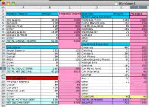 how to make a home budget plan how to create a simple budget sheet in excel works for
