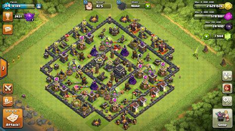 layout coc mode farming clash of clans menyerang atau bertahan lumpia studio