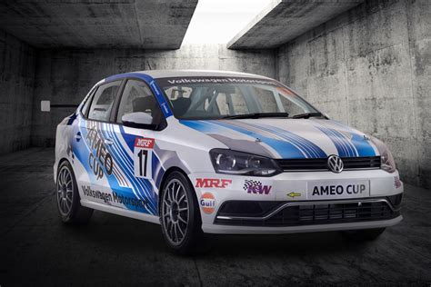 fastest volkswagen car 2017 volkswagen ameo cup car is the fastest vw racer built
