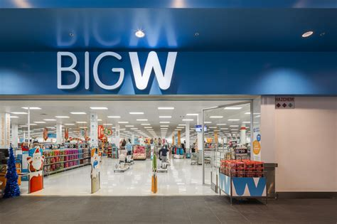 big w deemed work in progress by woolworths group ceo