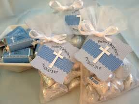 Easy baptism favor idea kisses from the guest of honor big