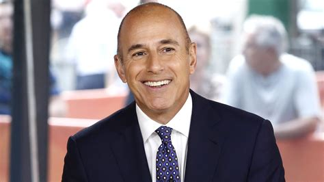 matt lauer unveils haircut matt lauer hairstyle 1000 images about matt lauer on