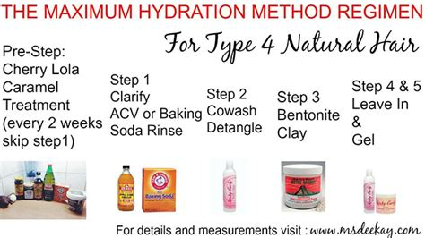 hair care natural steps the maximum hydration method for low porosity hair